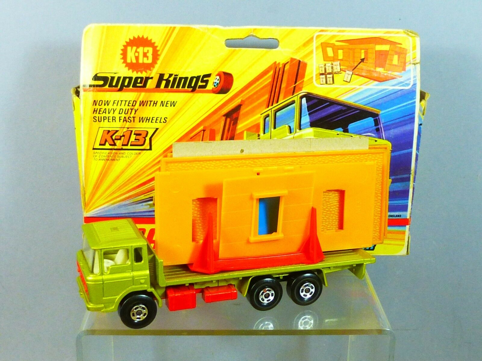 MATCHBOX SUPERKINGS MODEL K-13 DAF BUILDING TRANSPORTER    VN MIB