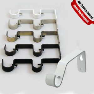 Curtain Pole Rod Wall Bracket Holder