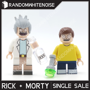 BRAND NEW Rick and Morty Mr Meeseks Block Toy Minifigs TV Show Animated Custom