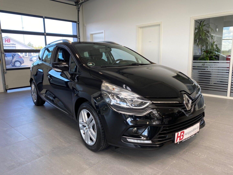 Renault Clio IV 1,5 dCi 90 Zen ST 5d - 99.800 kr.