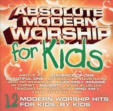 ~BACK ART MISSING~ Various Artists CD Absolute Modern Worship for Kids