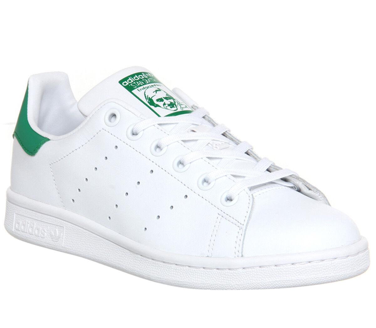 stan adidas stan smith formateurs formateurs blanche chaussures vert 411614  ... e07879dcd423