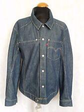 "HH40 da uomo Levi's Engineered Jeans Blu Denim Giacca M 38"""