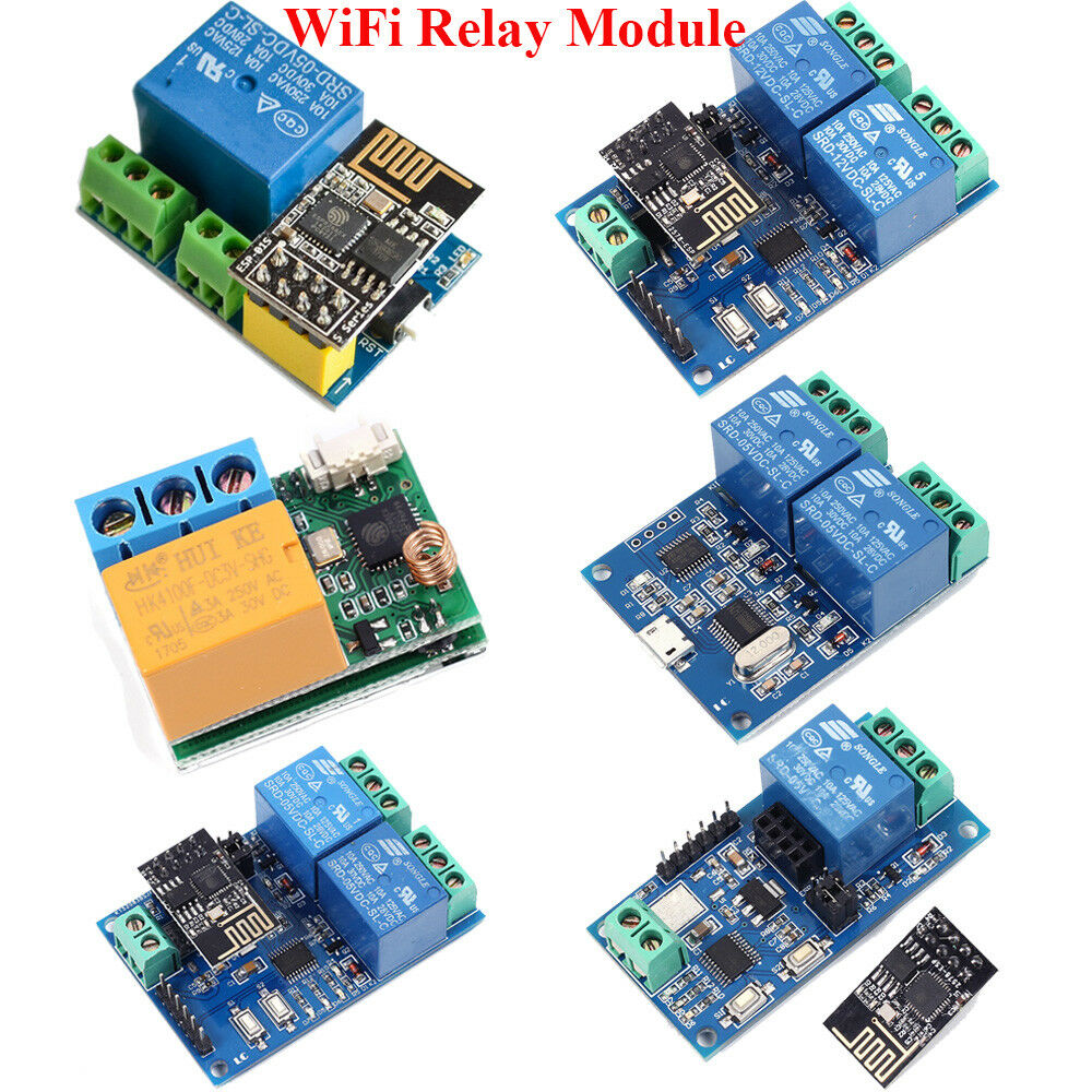 Details about ESP8266 5V 12V IOT Wifi Relay Module Remote Control Switch on