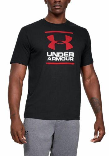 Under Armour Herren Sport-Freizeit-T-Shirt UA GL Foundation schwarz rot