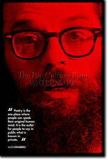 ALLEN GINSBERG ART PRINT PHOTO POSTER GIFT QUOTE HOWL AND OTHER POEMS