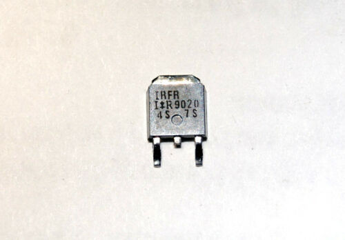 9.9A 50V 1x *NEW* International Rectifier IRFR9020 TO-252 SMD P-Channel MOSFET