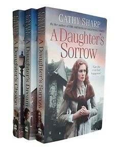 Cathy-Sharp-3-Books-East-End-Daughters-Saga-Daughter-039-s-Sorrow-Choice-Dream-New