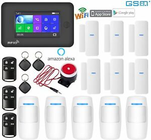 J07 IOS//Android APP WiFi IP Wireless Home//Office Security Alarm Burglar System