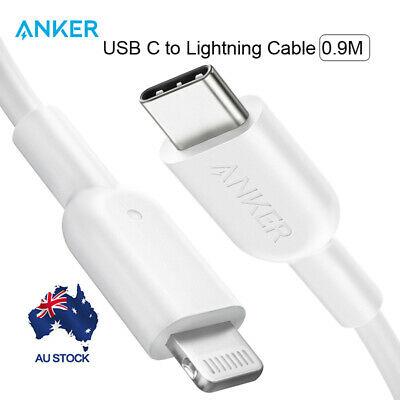 the best attitude 6fe2f 13f4e Anker USB C to Lightning Cable Powerline II with MFi Certified for iPhone X  0.9M