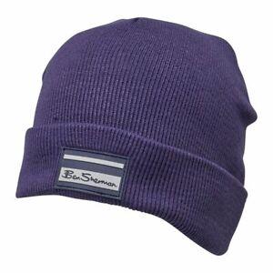 Ben-Sherman-Mens-Sully-Beanie-Hat-Blue-Depths