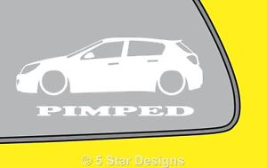 2x-PIMPED-vauxhall-astra-mk5-H-5-door-outline-sticker-for-astra-cdti-LR28