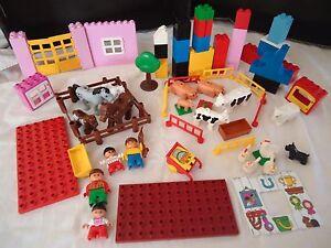 DuploFerme Gros Plaque Lot Vrac Sur Kg Lego Briques Détails uFT13JclK