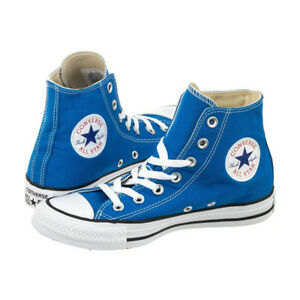 converse all star azzurre alte