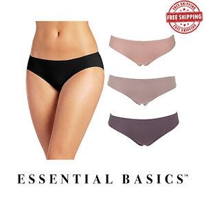 Lot-of-3-6-Women-039-s-Seamless-Bikini-Underwear-Panties-Comfortable-S-M-L-XL