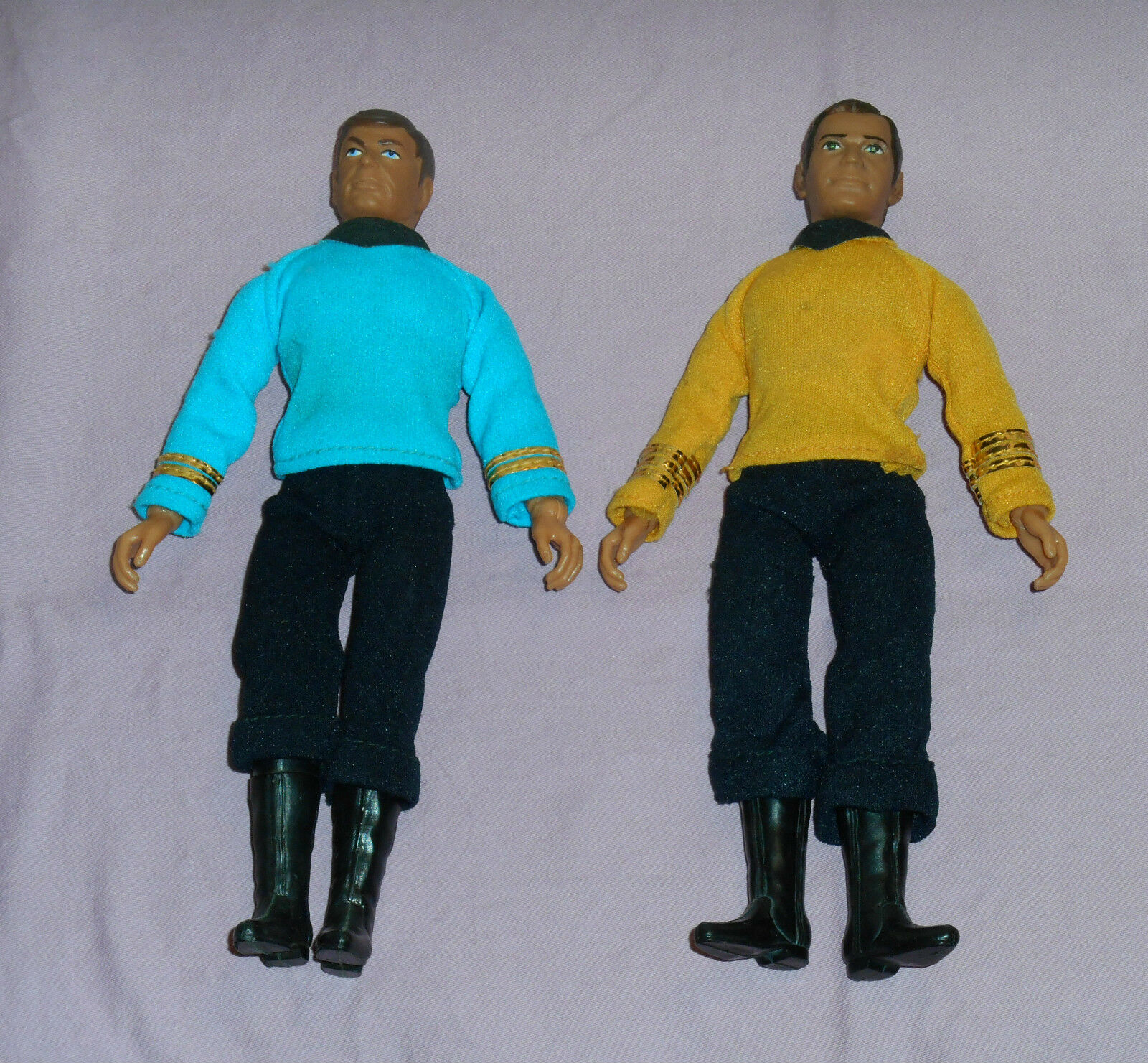 Vintage Mego Star Trek CAPTAIN KIRK & BONES McCOY LOT