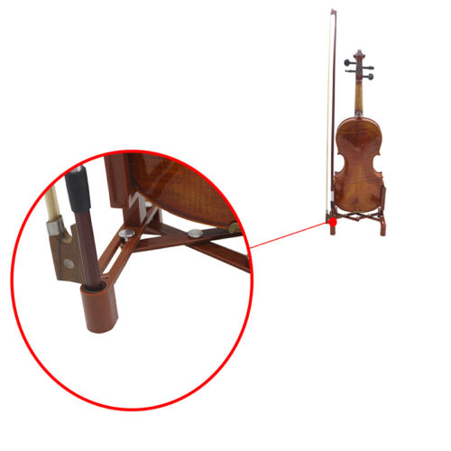 1 Pcs Professional Violin Holder Musical Steady Foldable Fit For 4/4 3/4 Violin
