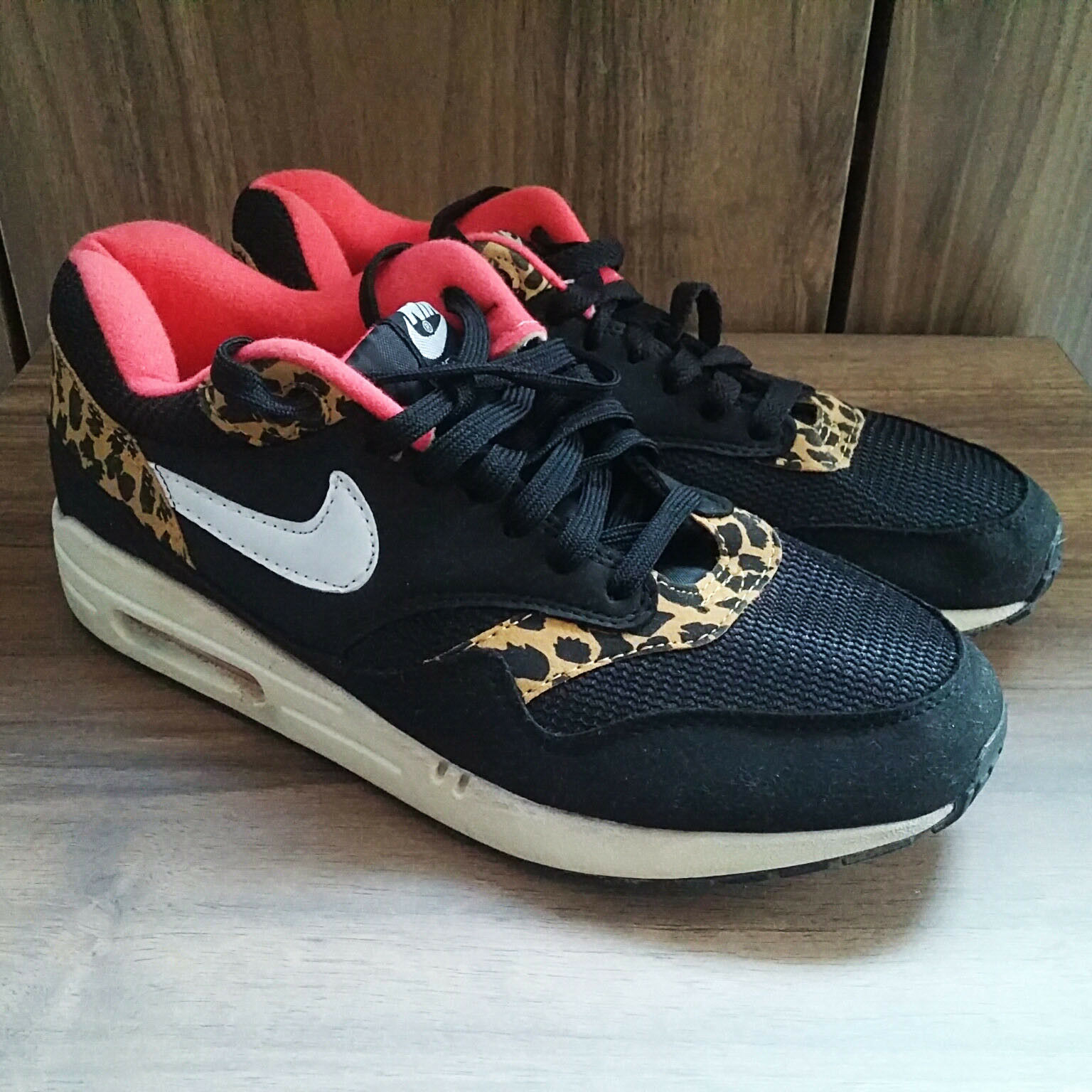 official photos 34ced e6a0b Used NIKE AIR MAX Leopard 319986 US 9 WMNS 026 oyrtah4586-Athletic Shoes