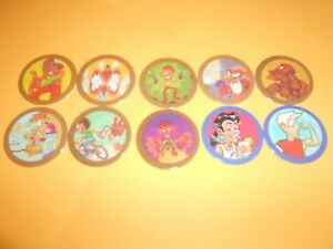 192 Pogs Pog Caps Milkcaps Flippo : Lot De 10 Hoppies Des Performances InéGales