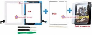 Outer-Touch-Glass-Digitizer-Replacement-Screen-Part-for-Ipad-2nd-2-frame-tools