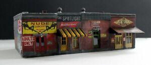 Downtown-Deco-HO-Scale-Building-Kit-Bad-To-The-Bone-Block-Rare-Decals-amp-Bonus