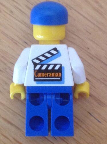 LEGO Studios figurine STU001-Cameraman bleu jambes et Cap-ENVOI GRATUIT