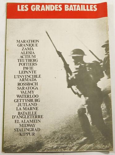 1978 Morris Sales Les Grandes Batailles Unused Sticker Album