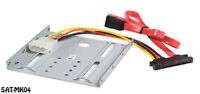 2.5in Sata Laptop Hard Drive To 3.5in Drive Bay Mounting Kit Bracket, Sat-mk04