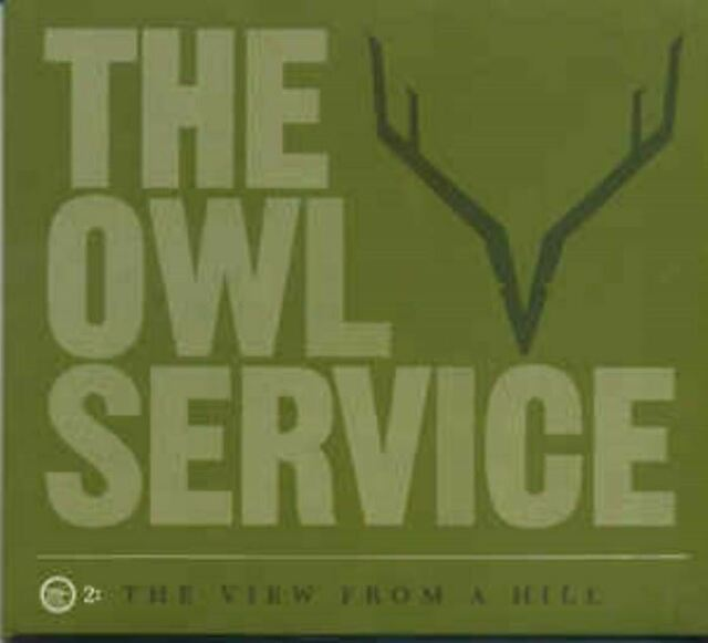 THE OWL SERVICE the view from a hill (CD, album, 2010) folk, very good condition