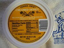 Trader Joe's Creamed Clover Honey (16 oz)  from Bee Expert  w/5y study