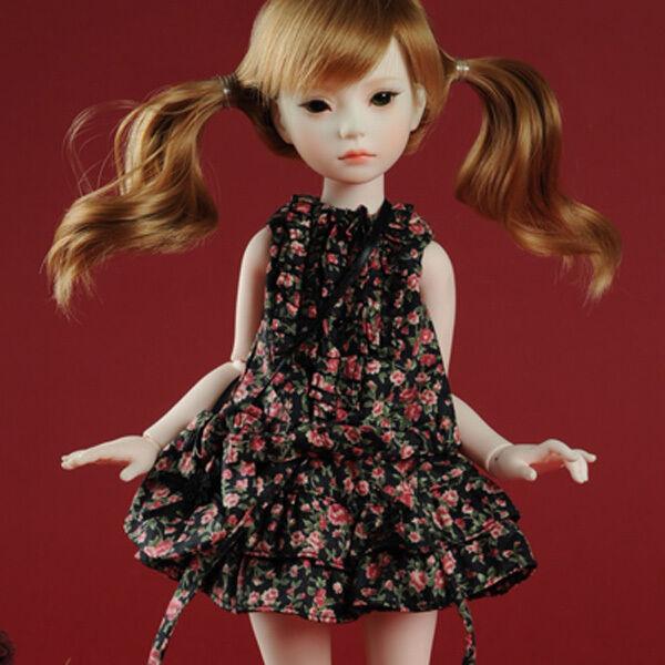 """Blue Tikan Kimono Set Dollmore 13/"""" 35cm bjd clothes Narsha SIZE"""