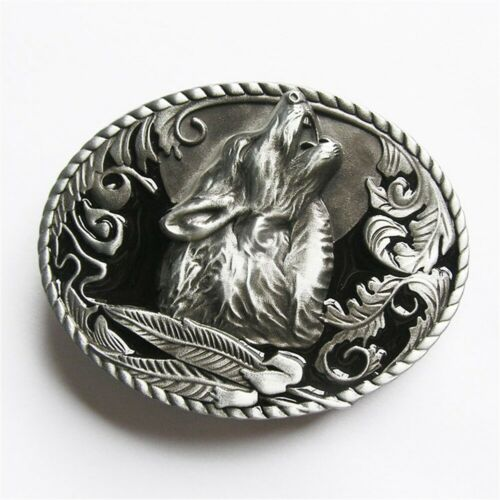 Wolf Horse Western Wildlife Belt Buckle Mix Styles Choice also Stock in US