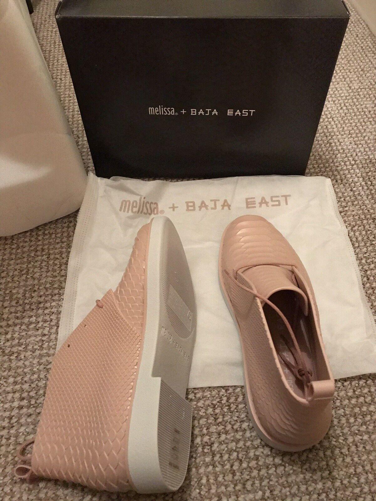 Melissa Baja East Python Chukka   Desert Boots  Pink   bluesh  UK 6  EU 39