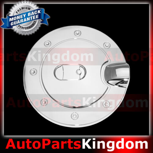 15-16 Chevy Silverado 2500+3500 Triple Chrome plated Gas Door Trim Bezel Cover