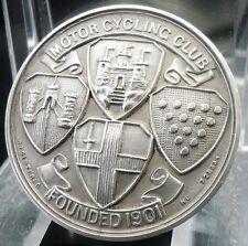 Silver Motor Cycling Club Medal, Edinburgh Trial 1937,
