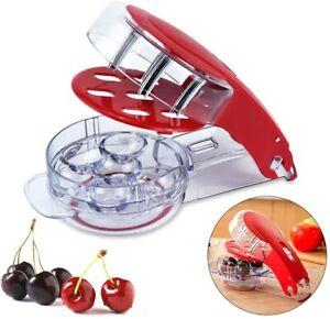 Cherry Pitter Stone Olive Seed Corer Kitchen Handheld Remover Machine Tools New
