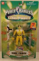Power Rangers Time Force - Yellow Ranger Light-up Helmet By Bandai (moc)