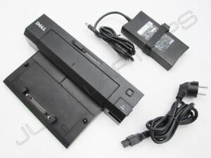 Dell Latitude E6420 E6510 E5510 E - Port Docking Station + Eu Netzteil PRO2X