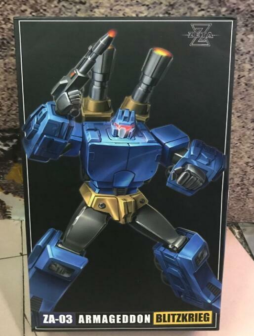 Hot Transformers Toy ZetaToys ZA03 Zeta ZT Mix Leopard Left Foot