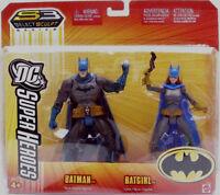 Dc Superheroes_batman & Batgirl 6  Figures_2 Pack_exclusive Limited Edition_mip