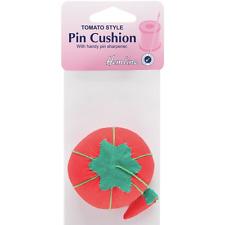 Hemline Tomato Pin Cushion with Attached Sharpener