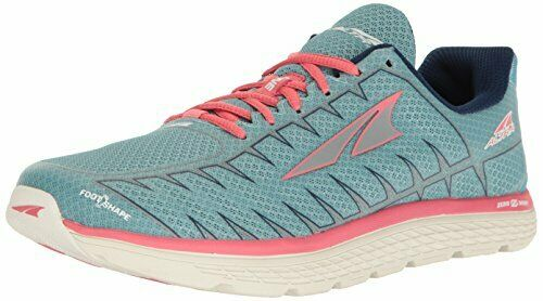Altra Women's One V3 Running shoes, Light bluee Coral, 6.5 B US