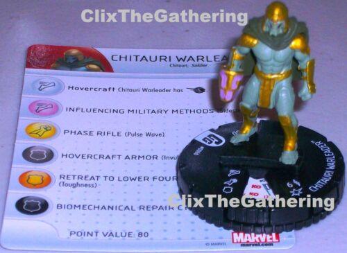 CHITAURI WARLEADER #006B Guardians of the Galaxy Marvel HeroClix