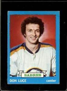1973-74-TOPPS-38-DON-LUCE-VG-SABRES-X2197