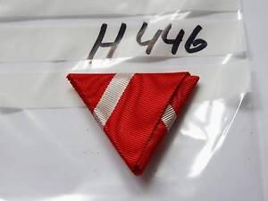 Ordensband-Osterreich-Dreiecksband-rot-weiss-rot-40mm-KuK-neu-h446