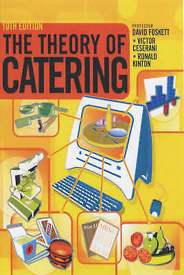 """""""AS NEW"""" Theory of Catering 10th Edition, Ceserani, Victor, Foskett, David, Kint"""