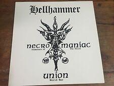 Hellhammer Necromaniac Purple Lp Demos Rarities Celtic Frost Triptycon Bathory