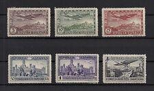 Spain 1931 Sc. C62-C67 Complete Set of 8 NH