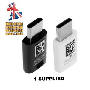 GENUINE-SAMSUNG-S8-S9-NOTE-MICRO-USB-To-TYPE-C-Connector-Adapter-GH98-41290A