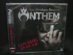 ANTHEM Feat. GRAHAM BONNET Explosive - Studio Jam JAPAN CD Loudness Alcatrazz